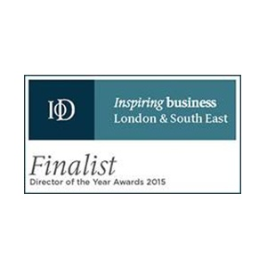 Young Director of the Year Finalist - inspiring business, London & South East