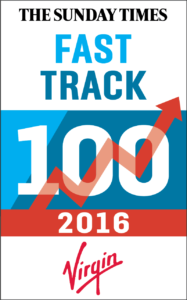 Sunday Times Virgin Fast Track 100 2016