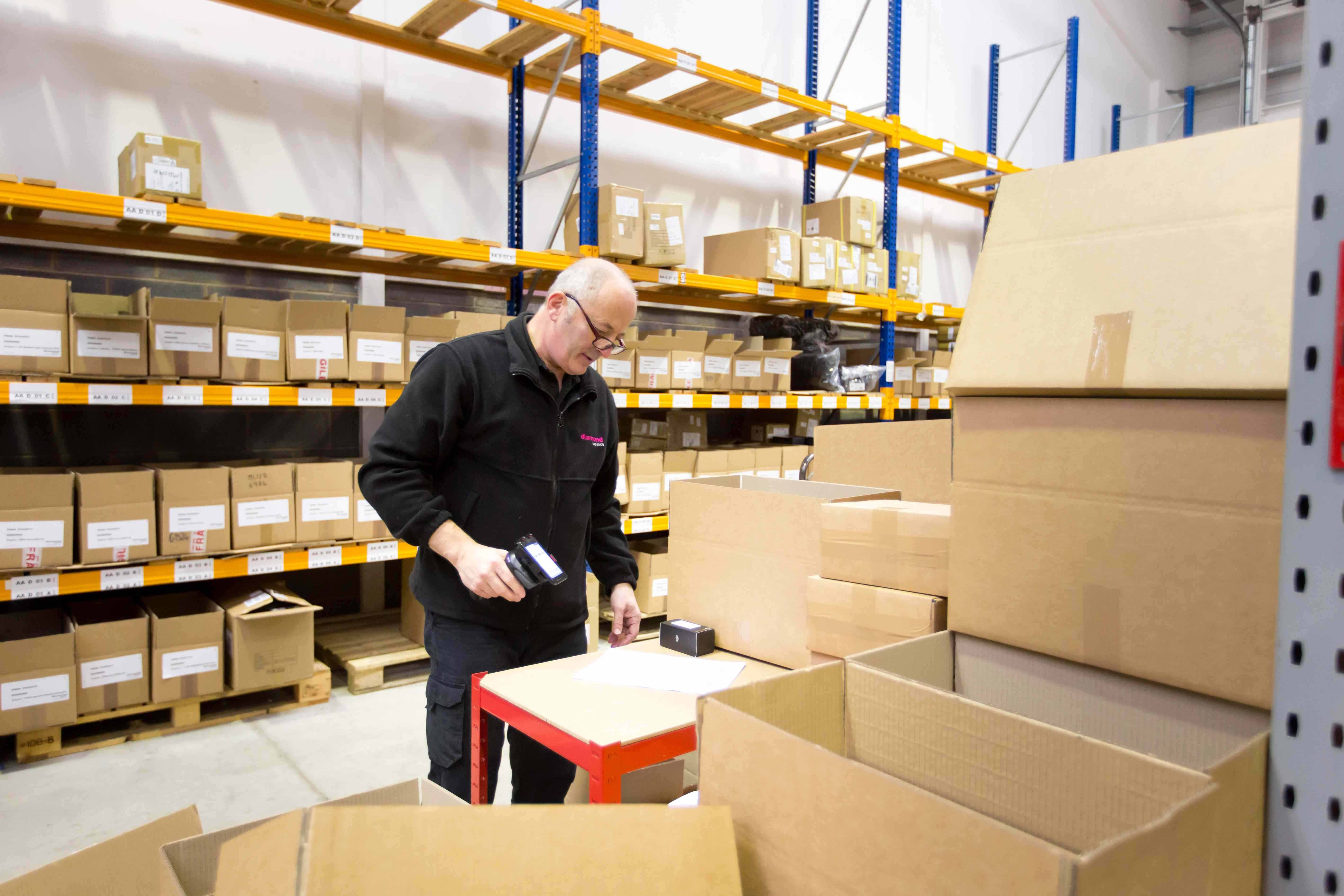 Storage and Fulfilment for Smart Businesses. pick and packing fulfilment specialists