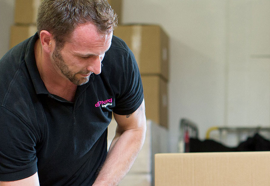 connect your eccomerce platforms for picking and packing and delivery at one of our nationwide fulfilment centres